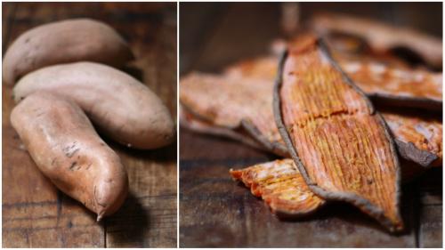How To Make Sweet Potato Dog Chew Treats Eco Snippets