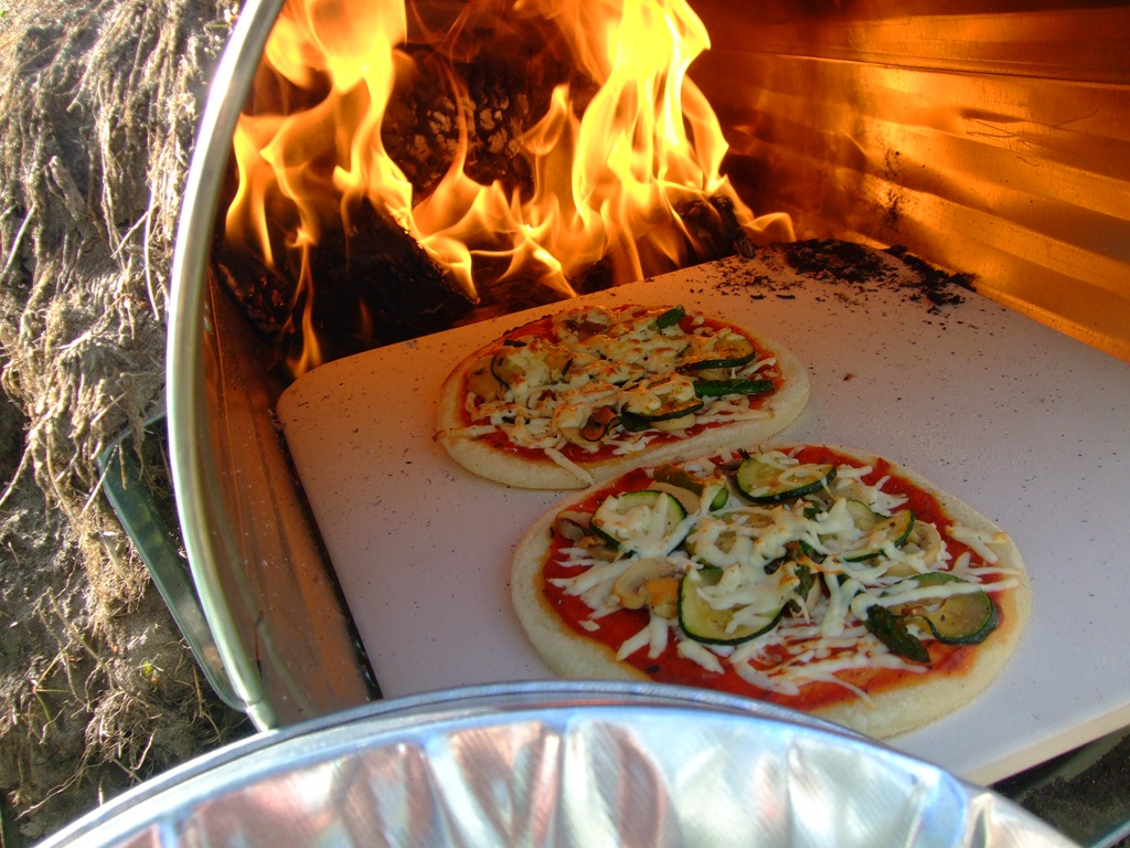 How To Make A Wood Fire Garbage Can Pizza Oven Eco Snippets