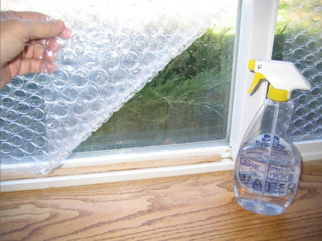 Bubble Wrap Window Insulation Eco Snippets