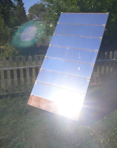 Build A Heliostat For Solar Heating Amp Lighting Eco Snippets