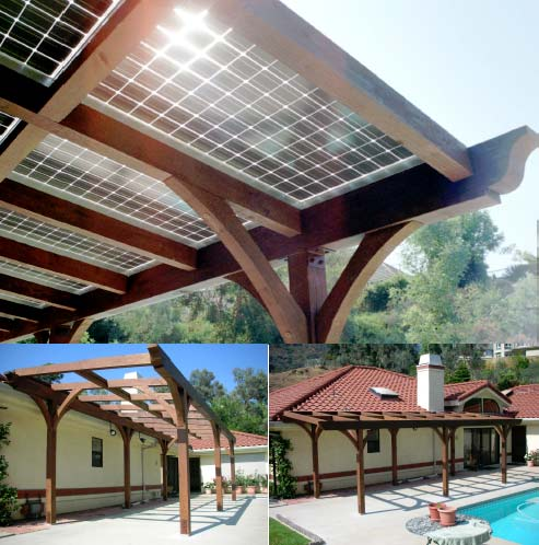 ... Solar Panels On A Pergola. 1 - Solar Panels On A Pergola – Eco Snippets