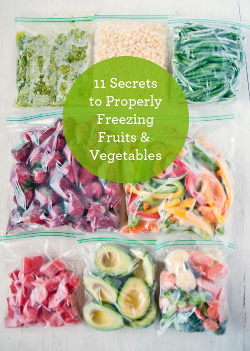 11 Secrets To Properly Freezing Fruits Amp Vegetables Eco