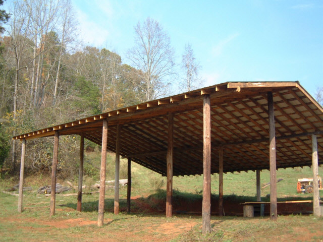 How To Build An Inexpensive Pole Barn Eco Snippets