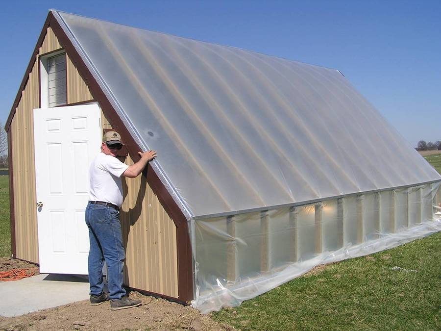 Plans For Building A Passive Solar Greenhouse Eco Snippets