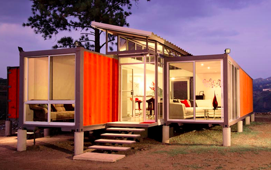 Cool costa rican shipping container house only costs 40 000 eco snippets - Sost to build shipping container home ...
