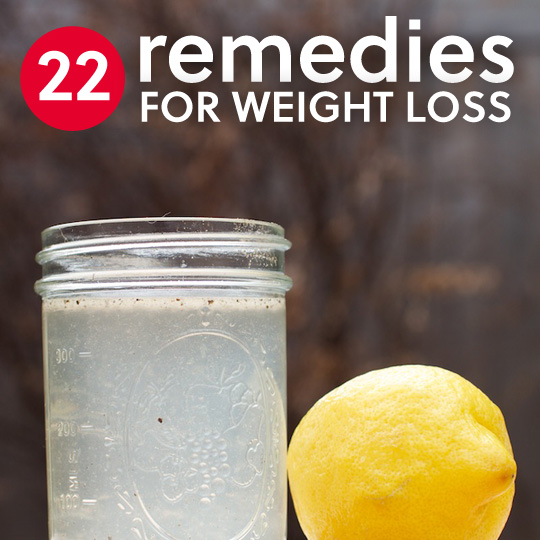 How To Lose Weight Naturally With 22 Home Remedies...