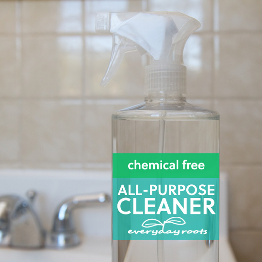 Natural Homemade All-Purpose Chemical Free Cleaner…