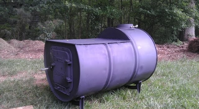 how to make a 55 gallon drum fly