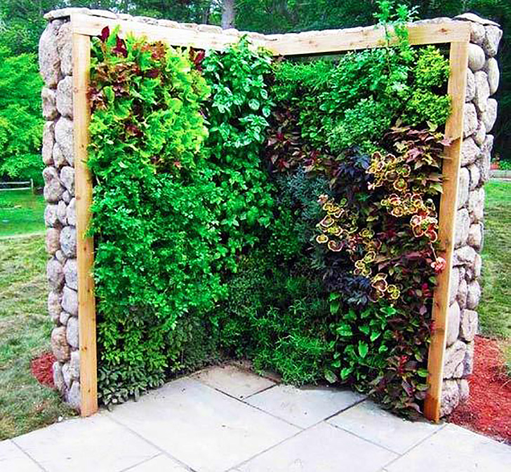Vertical Herb Garden Ideas: Amazing Vertical Salad Garden Ideas