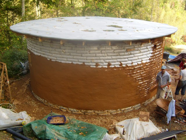 Building An Earthbag Round House For Less Than $5,000...
