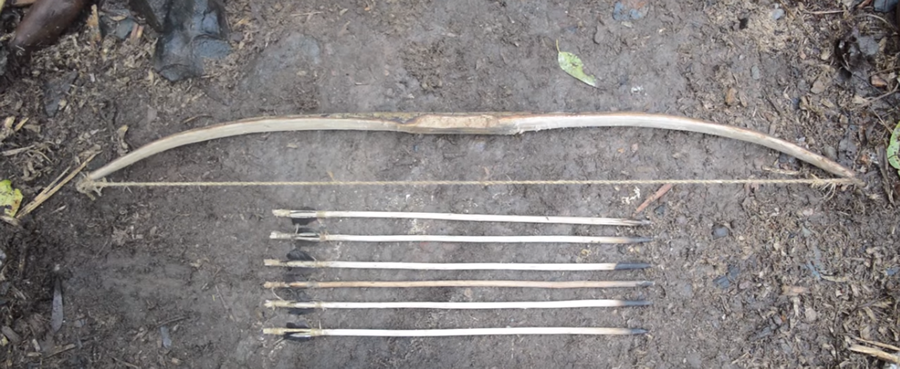 This Guy Can Make A Bow And Arrow From Scratch Using Stone Tools...