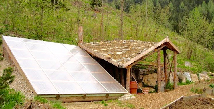 $300 Underground Greenhouse Grows Your Food Year-Round...