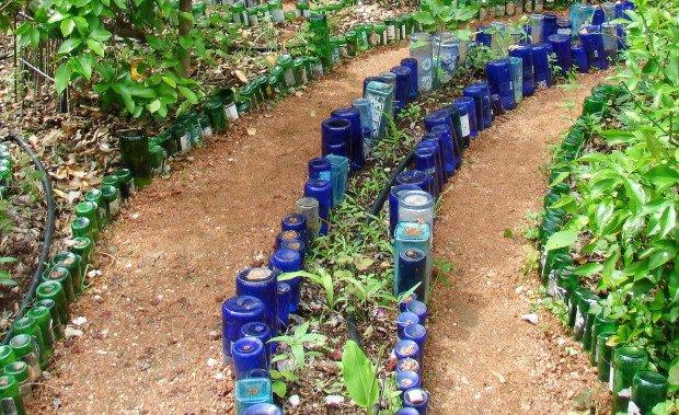 Garden Edging Ideas garden bed edging ideas woohome 22 15 Brilliant Garden Edging Ideas You Can Do At Home