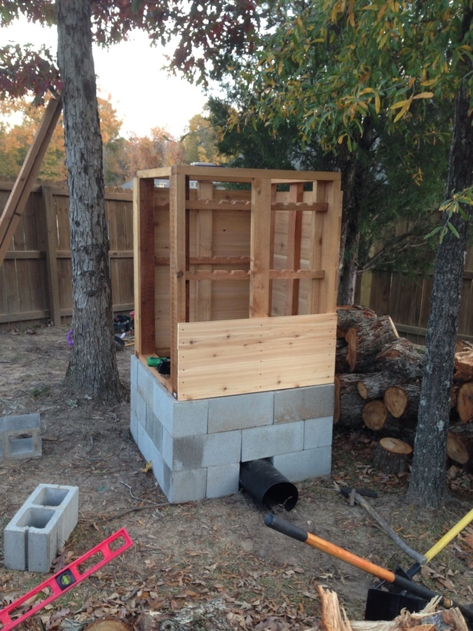 How To Build Your Own Smokehouse...