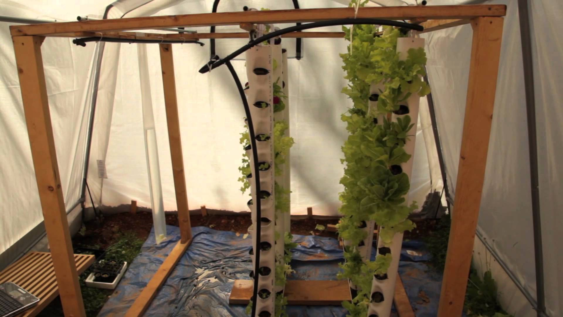 How To Build A Vertical Growing Tower For Aquaponics Or ...
