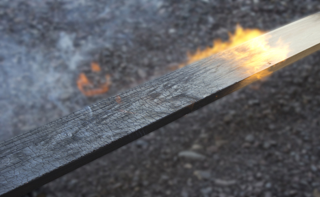 The Japanese Technique Of Preserving Wood With Fire…