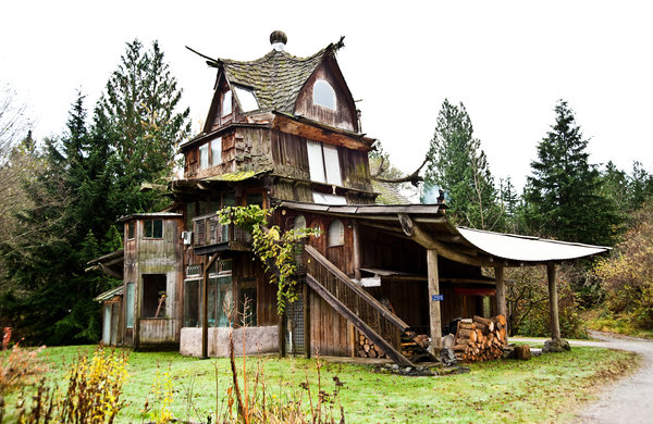 The Far Out Fantasy Homes Of Sun Ray Kelly Natural Home
