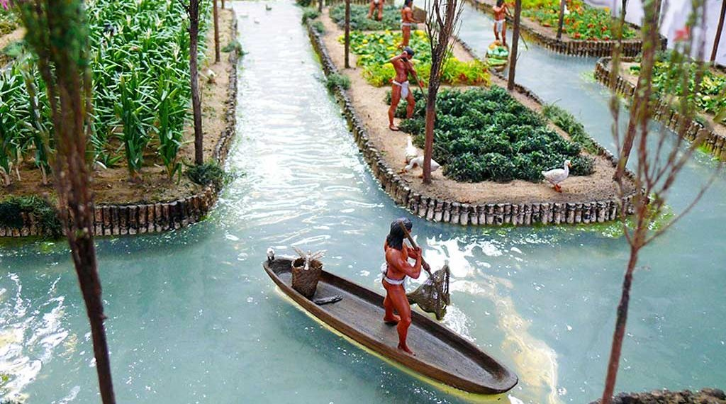 The Ingenious Floating Gardens of the Aztecs...