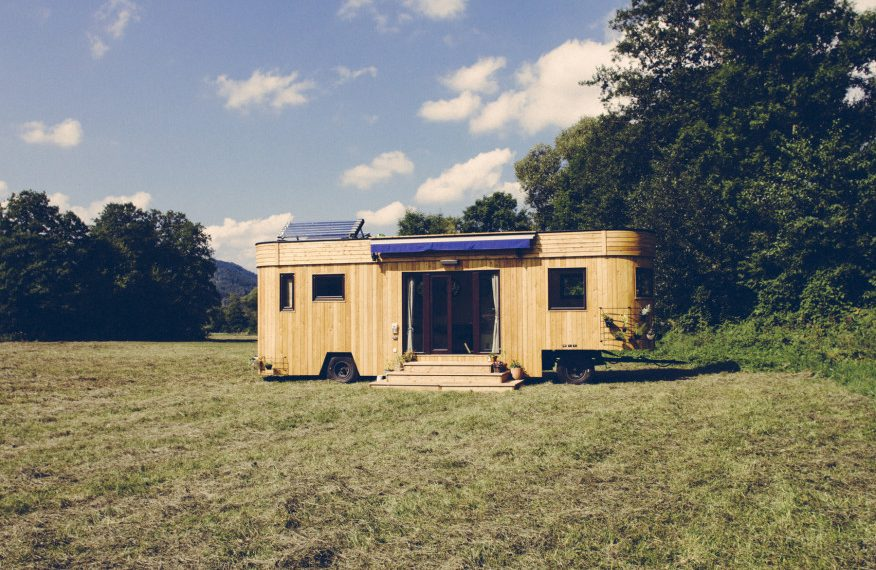 Self Sustaining Homes this austrian made tiny house works completely off-grid & is fully