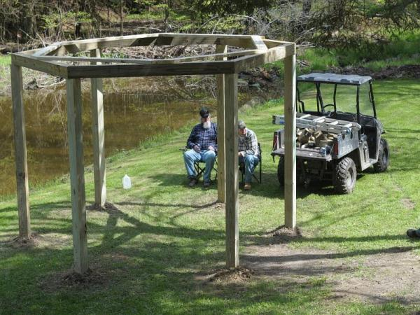 An Awesome Fire Pit Swing Set DIY Project… - Eco Snippets