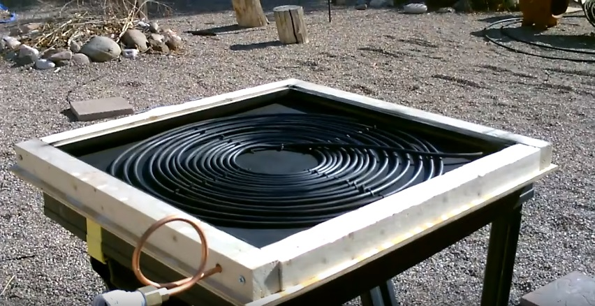Solar Water Heater: Homemade Solar