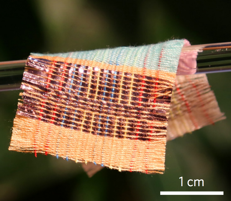 This Amazing Fabric Can Generate Electricity From Sunlight & Movement...