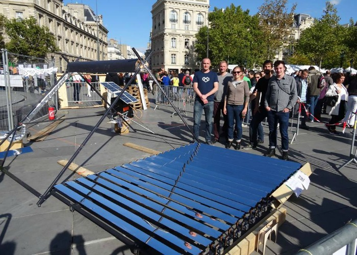 Plans For Solar Concentrator Are Released To The Public, Allowing People To Build Their Own Solar Setup...