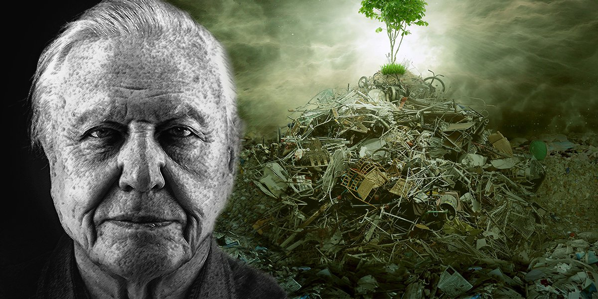 Filmmaker And Naturalist Sir David Attenborough Says: Humans Are A 'Plague On Earth'...