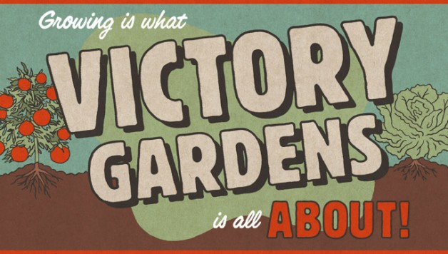 A Vintage Victory Garden Plan For A Family Of 5...
