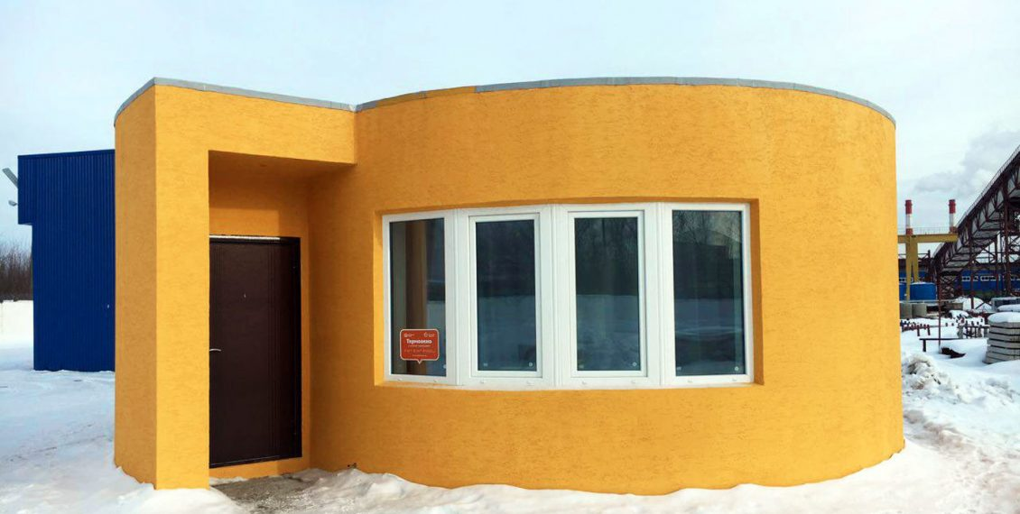 A Company Just 3D-Printed A House In 24 Hours For Only $10,134...