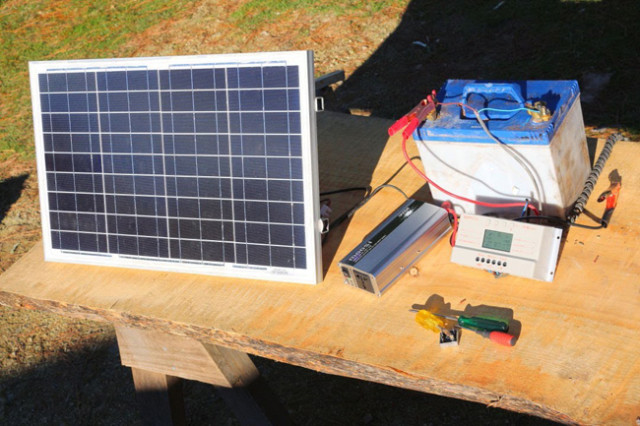 Complete Video Tutorial On Setting Up Your Own Off Grid Solar Power...