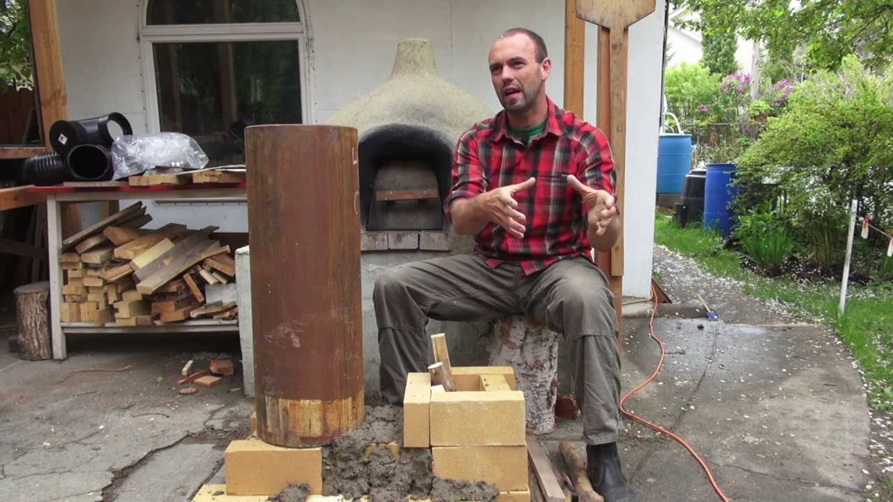 Rocket Mass Heaters: A Better Burning Wood Stove...