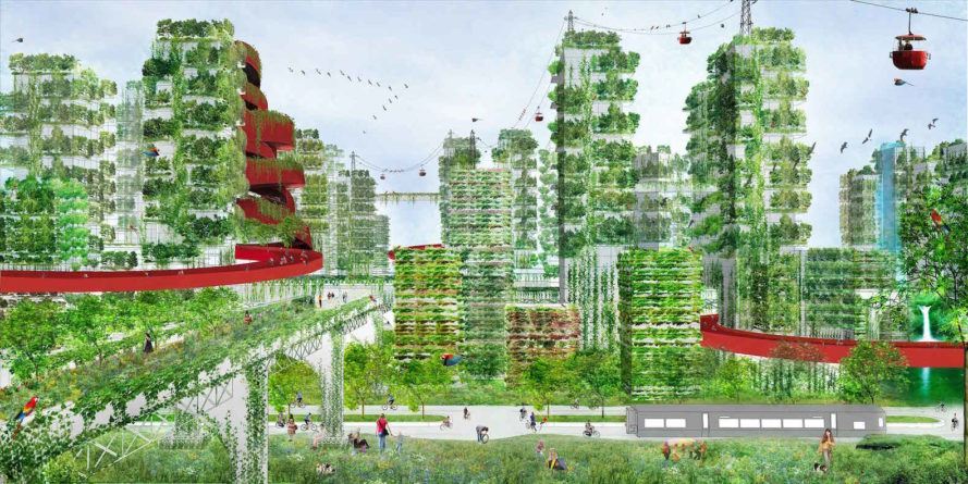 "China ""Forest City"" to combat air pollution"