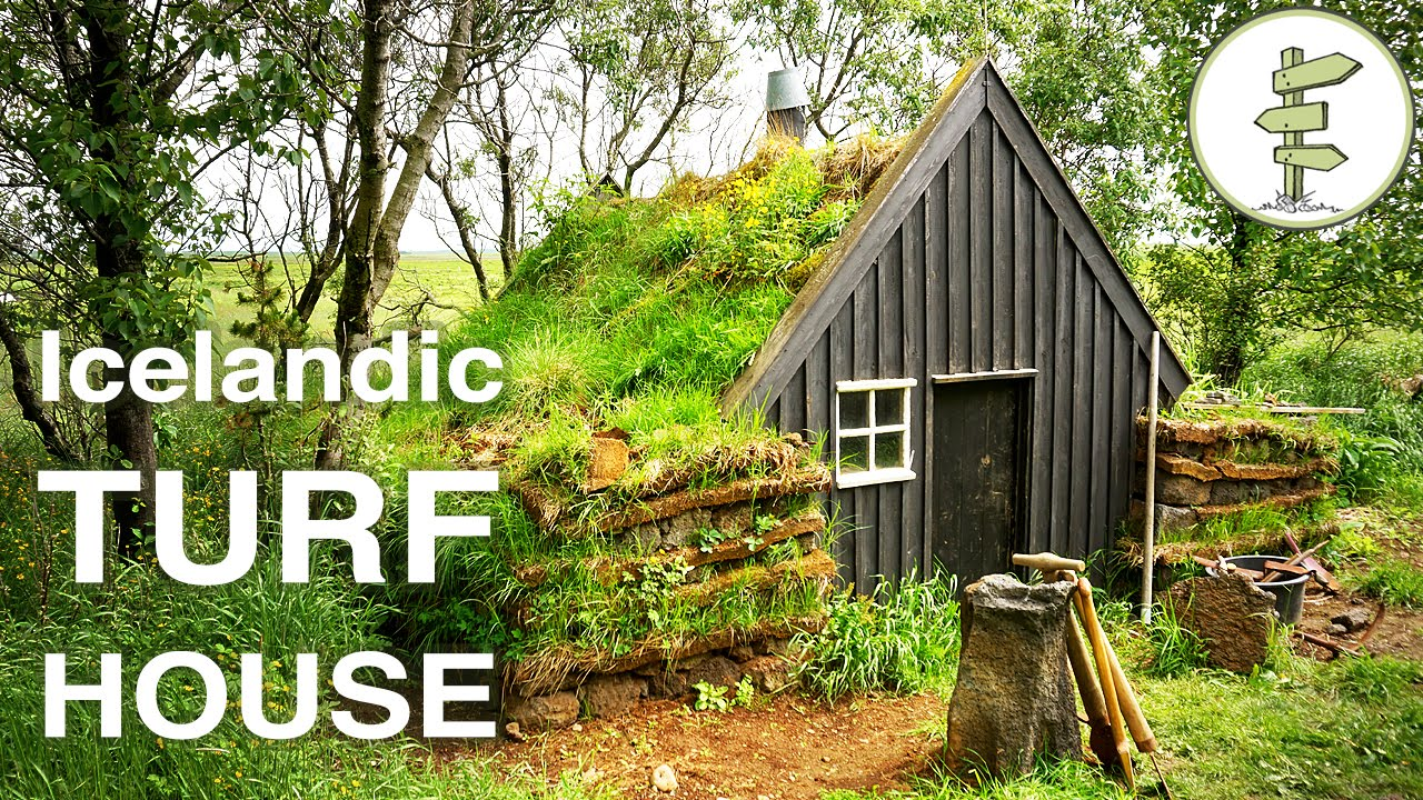 Beautiful Tiny Turf House In Iceland – Full Tour & Interview...