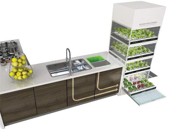 Ikea's Hydroponic System Allows You To Grow Vegetables All Year Round Without A Garden...