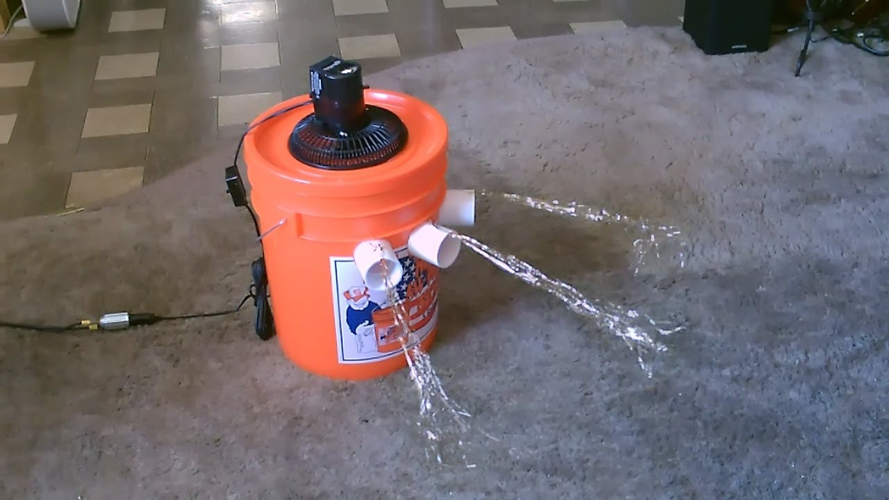 Homemade Air Conditioner DIY – The '5 Gallon Bucket' Air Cooler!