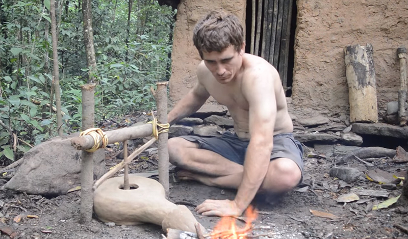 Primitive Technology: How To Make A Forge…