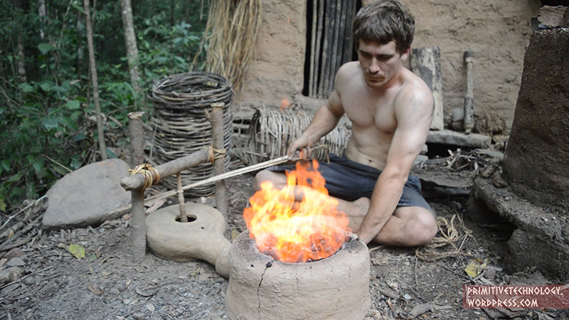 Primitive Technology: How To Make A Forge...