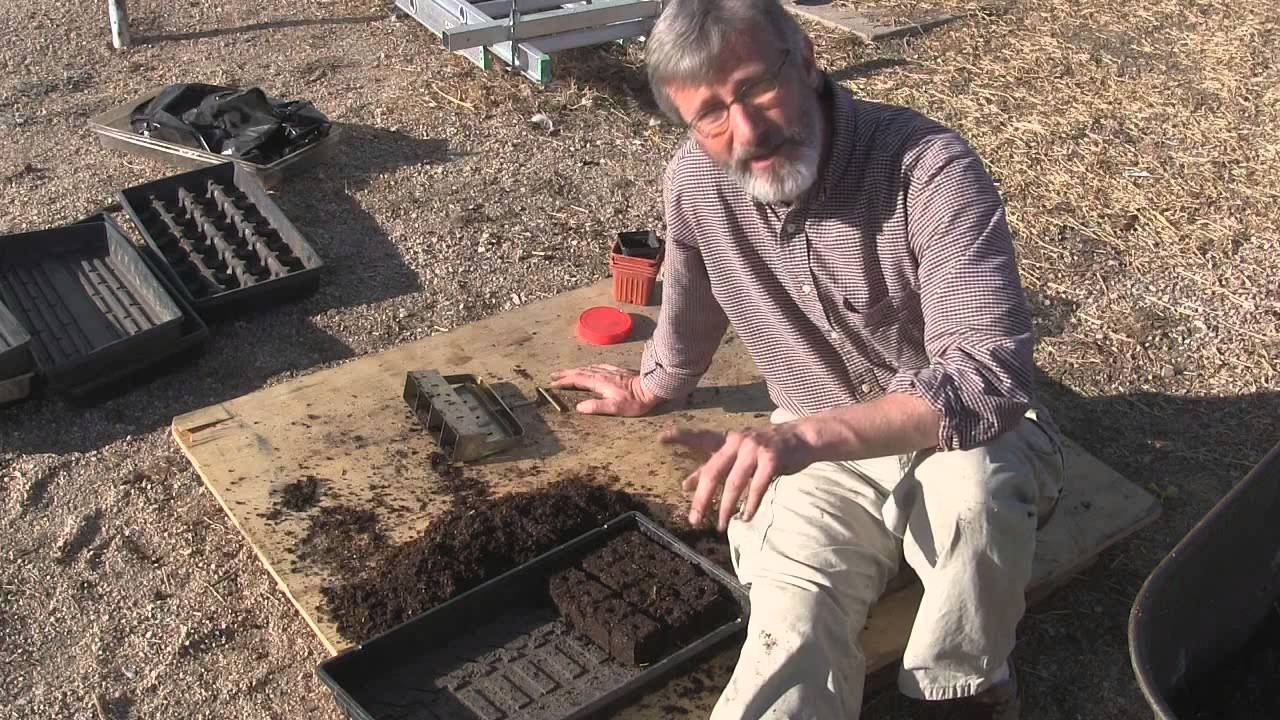 How To Build A Soil Block Maker For Starting Seeds For Free...