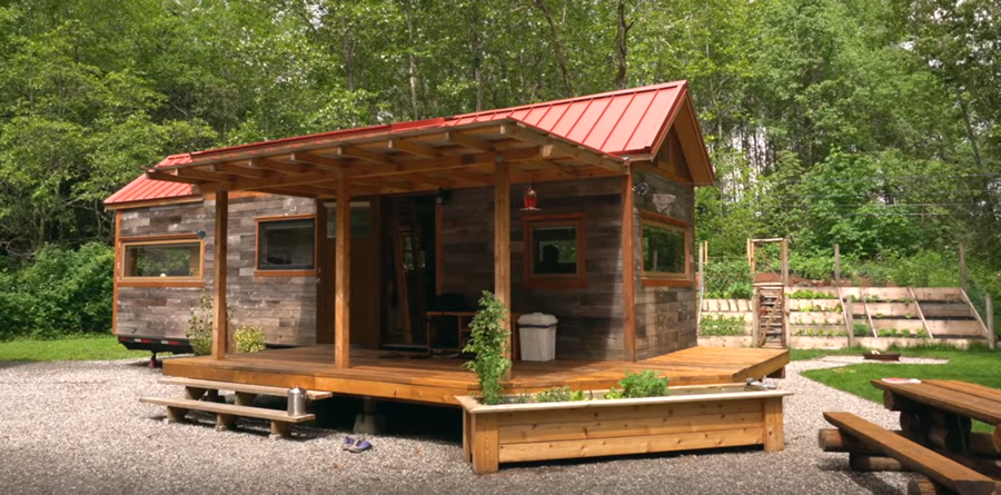 How This Frugal Family Of 4 Paid Off $96k In Debt & Built A Custom Tiny House...