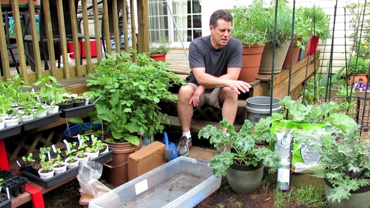 Container Gardening: Worm Castings, A Soilless Mix, Refreshing Old Mix, Moisture Control...