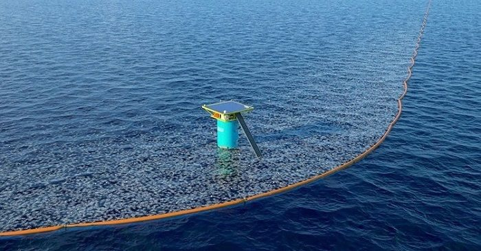 A Giant Crowdfunded Machine Is About To Begin Cleaning Up The Pacific Garbage Patch...