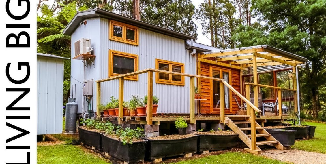 Debt-Free Family Life In A Zero Waste, Plant Based Tiny House...