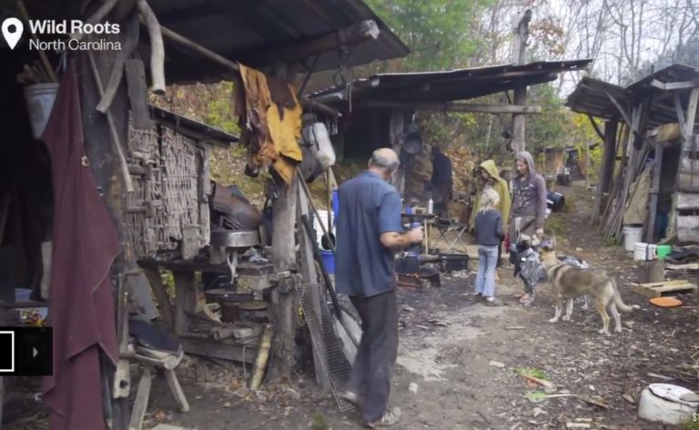 Enchanted Off Grid Community Discovered Hiding In The Appalachians...