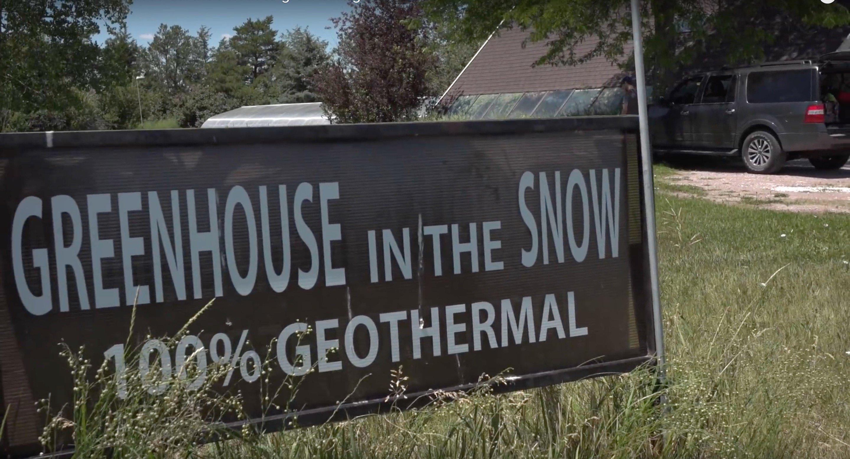 Nebraska Retiree Uses Earth's Heat To Grow Oranges In The Snow...