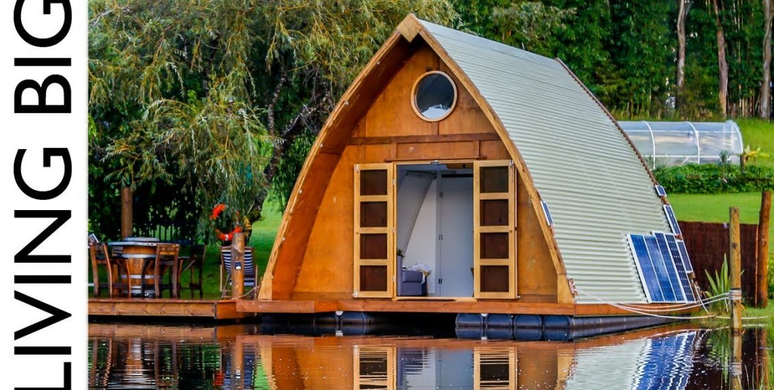 This Floating Tiny Cabin Is The Ultimate City Escape...