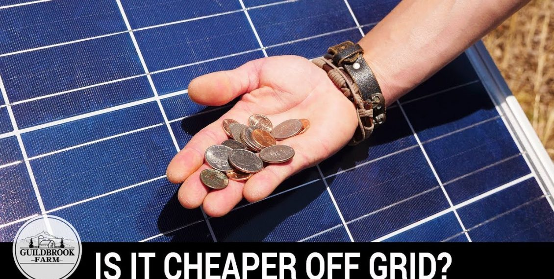 Is It Cheaper Off-Grid? Our First 5 Months Living Off The Grid...