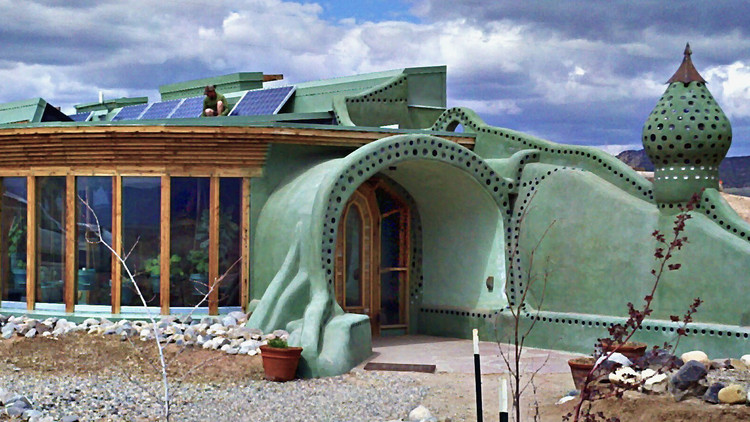 Green Citadels - Explore Eco-Friendly Earthships With Sustainability Pioneers...