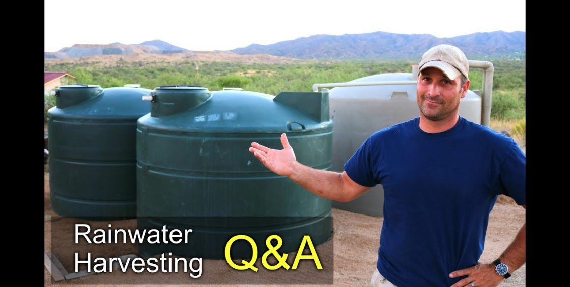 Rainwater Harvesting – Home System Tour & Q&A's...
