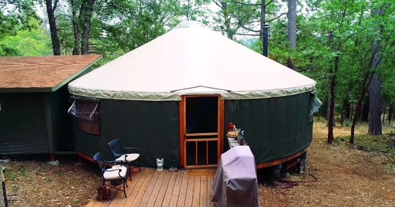 Yurt Life & Permaculture In High Sierra...